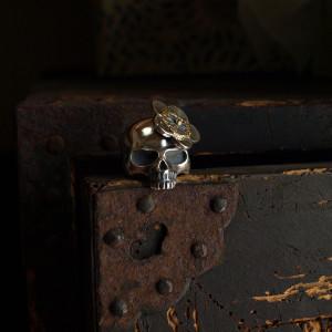 Ohana Skull Ring