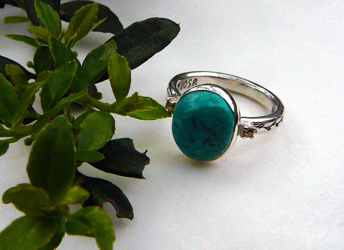 Order : Mrs. K's Turquoise Ring