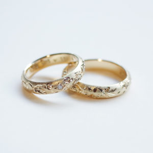 Order : Mr.&Mrs. K's Marriage Ring / K20, diamond
