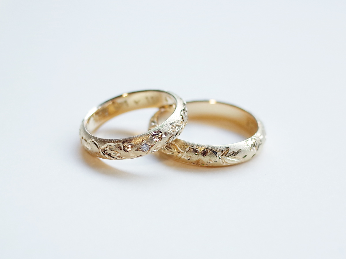 Order : Mr.&Mrs. K's Marriage Ring