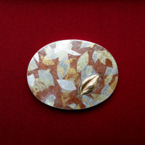 Autumn leaves Obi Buckle