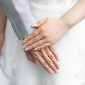 Order : Mr.&Mrs. K's Marriage Ring at a wedding ceremony ❤