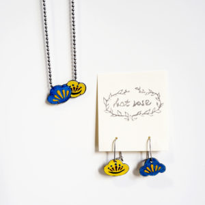 Order : S. M.'s Ume Matsu Earrings & Pendant