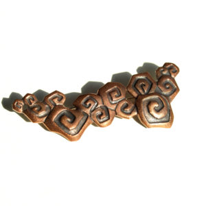 Uzumaki Brooch (Copper)