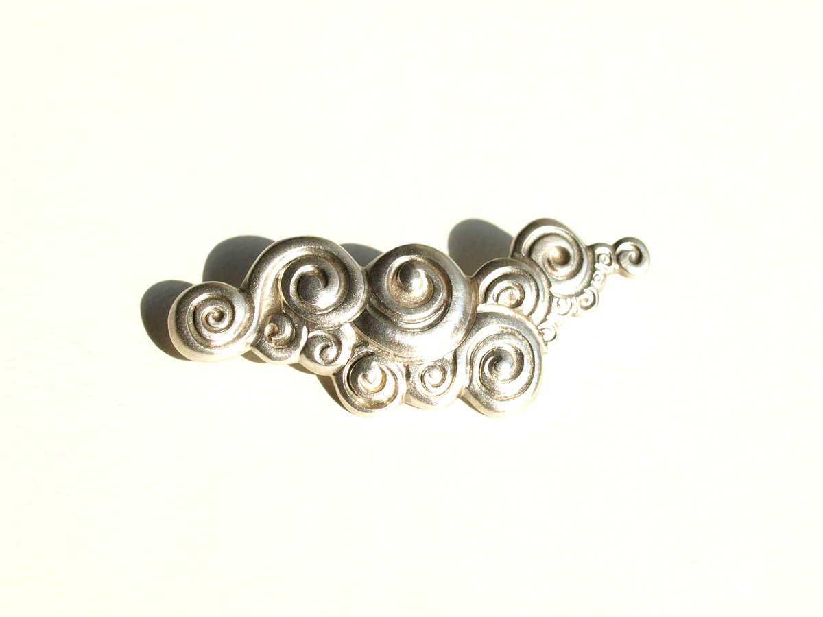 Uzumaki Brooch (Silver)
