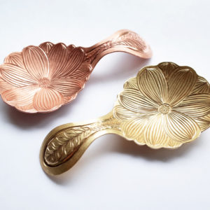 Flowers Tea scoop