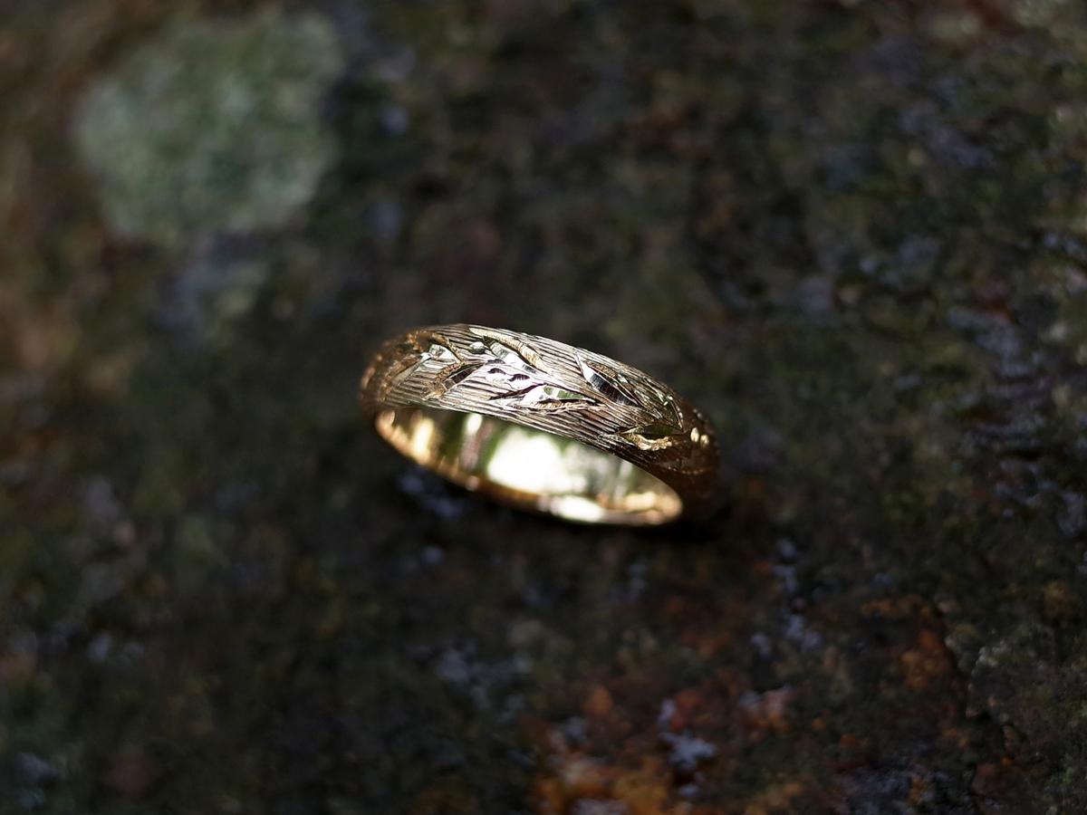 Order : F's leaf ring