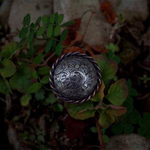 Antique Arabesque Ring 001 (silver)